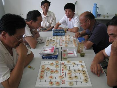 老年人运动会中国象棋比赛图片